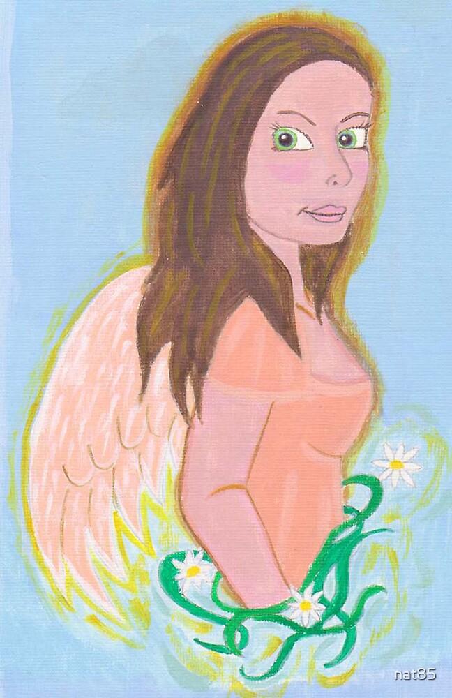 flower garden angel by nat85