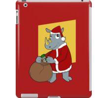 Christmas Rhinoceros  iPad Case/Skin