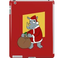Christmas Rhinoceros  iPad Case/Skin