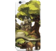marowak ghost dep on torterra's back iPhone Case/Skin