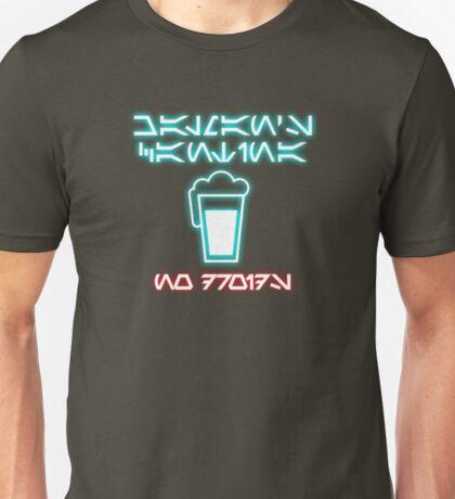 Chalman's Cantina - No Droids Unisex T-Shirt