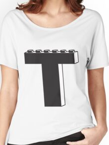 THE LETTER T Women's Relaxed Fit T-Shirt