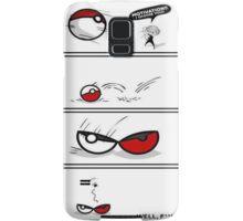 pokeball motivation, I choose you! Samsung Galaxy Case/Skin