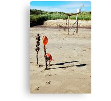 Spurn Sculpture. Canvas Print
