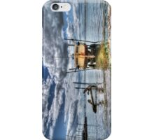 Silver Spray - West Mersea iPhone Case/Skin