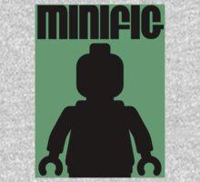 Retro Large Black Minifig, Customize My Minifig One Piece - Long Sleeve