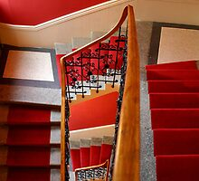 Red Steps by Michele Roohani
