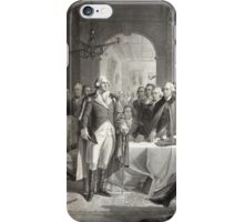 George Washington and His Generals iPhone Case/Skin