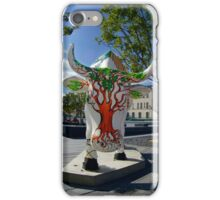 Cows and Trees, Ebrington Square, Derry iPhone Case/Skin