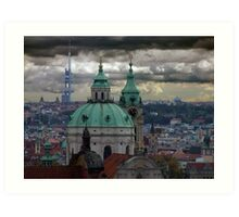 Prague City View Art Print