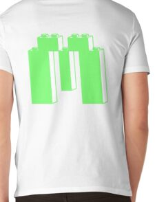 THE LETTER M, Customize My Minifig Mens V-Neck T-Shirt