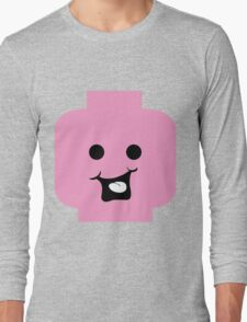 Cheeky Minifig Head Long Sleeve T-Shirt