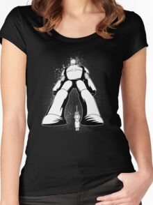 Remote Controlled Women's Fitted Scoop T-Shirt