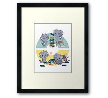 spurrs pokemons playing Framed Print