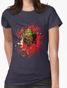 yet another zombie Womens Fitted T-Shirt