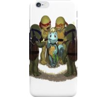 squirtle is a turttle ninja lost iPhone Case/Skin