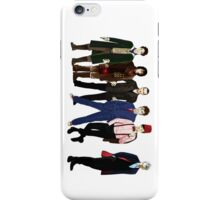 Doctor Who - The Six Doctors iPhone Case/Skin
