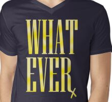 Whatever Mens V-Neck T-Shirt