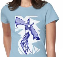 Blue Harem Womens Fitted T-Shirt