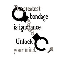Unlock Your Mind Photographic Print