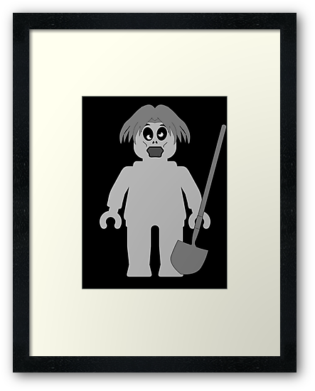 Zombie Minifig, Customize My Minifig by ChilleeW