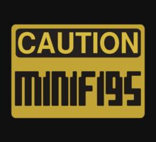Caution Minifigs Sign Baby Tee