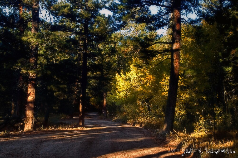 The Road To Autumn by John  De Bord Photography