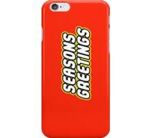 SEASONS GREETINGS iPhone Case/Skin