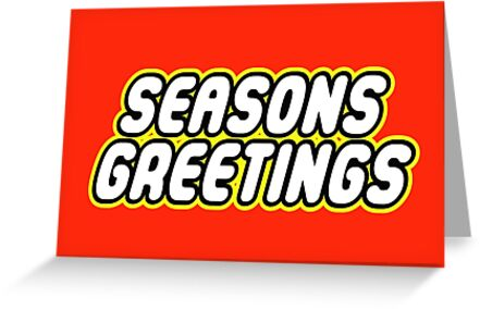 SEASONS GREETINGS by Customize My Minifig