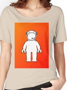 Banksy Style Astronaut Minifig, Customize My Minifig Women's Relaxed Fit T-Shirt