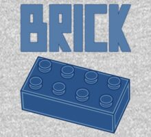 Blue Brick, Customize My Minifig One Piece - Long Sleeve