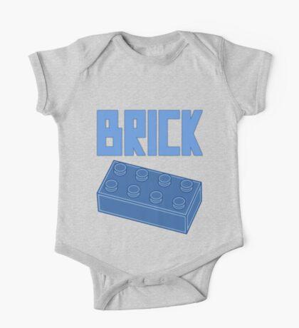Blue Brick, Customize My Minifig One Piece - Short Sleeve