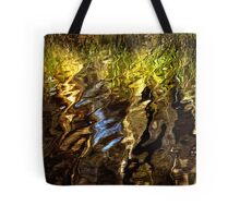 Ripples, reeds, reflections Tote Bag