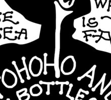 Yohoho And A Bottle Of Rum Sticker