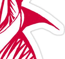 Red Warrior Queen Sticker