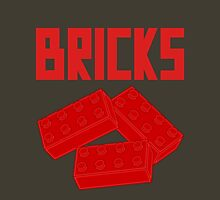Red Bricks, Customize My Minifig Unisex T-Shirt