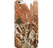 Christmas time in Garden of the Gods...Colorado Springs iPhone Case/Skin