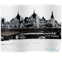 Waterloo Bridge Poster