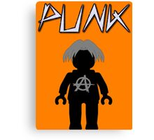 Punk Guitarist Minifig, Customize My Minifig Canvas Print