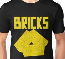 Yellow Bricks, Customize My Minifig Unisex T-Shirt