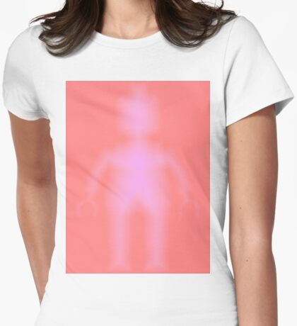 Minifig Ghost, Customize My Minifig Womens Fitted T-Shirt