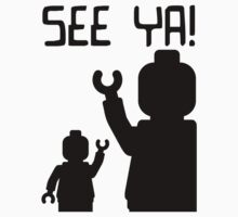 Minifig See Ya One Piece - Short Sleeve