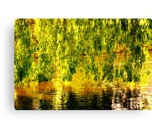 Willow Wall Canvas Print