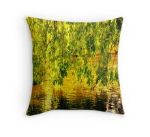 Willow Wall Throw Pillow