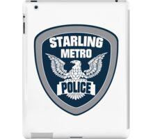 Starling City Metro Police Department iPad Case/Skin