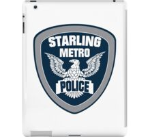 Starling City Metro Police Department iPad Case/Skin