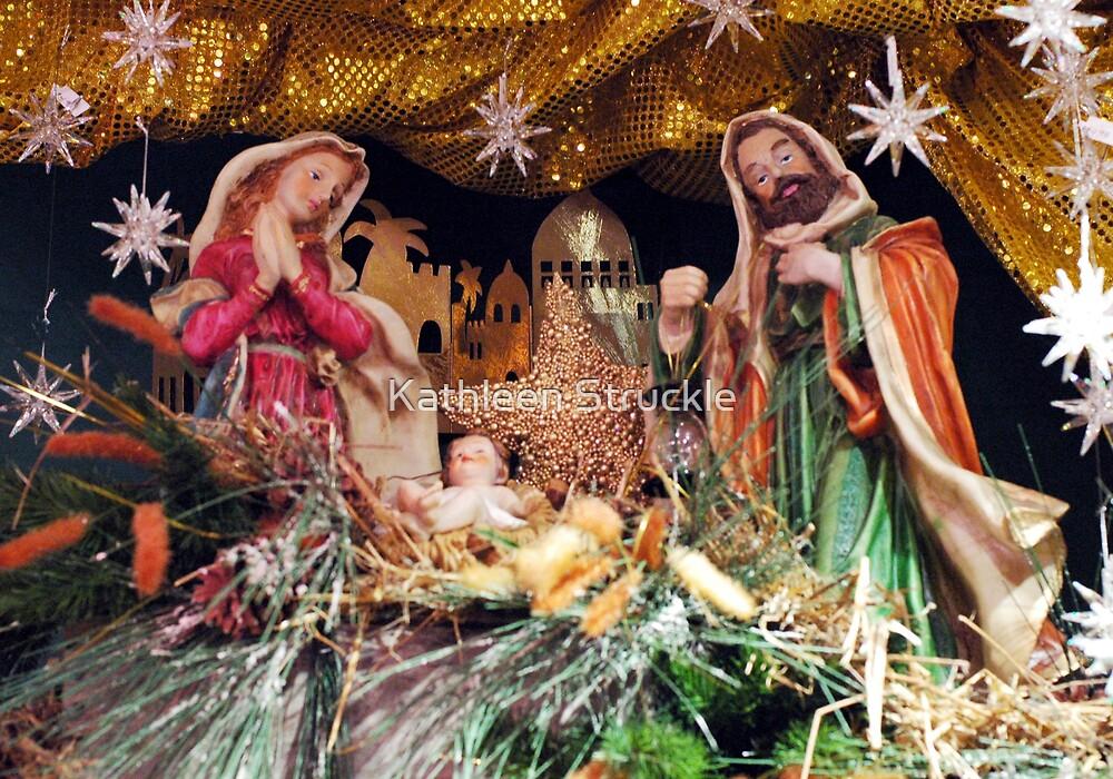 Nativity Scene by Kathleen Struckle