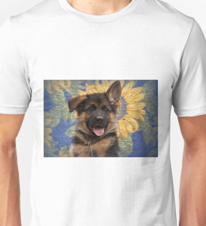 Drigon - German Shepherd Puppy Unisex T-Shirt