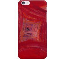 Red Skewed Squares iPhone Case/Skin