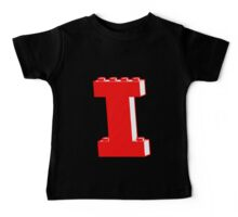 THE LETTER I, Customize My Minifig Baby Tee